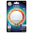 GE LED 40-Watt G25 Light Bulb - Soft White, White Bulb