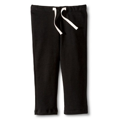 Colored Organics™ Newborn Jogger Pant - Black 0-3 M