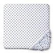 Circo® Plush Dot Fitted Crib Sheet