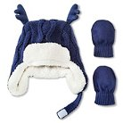 Toddler Boys' Hat And Hand wear Set Blue - Cherokee®