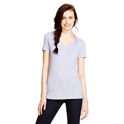 Women's V-Neck T-shirt Shirt - Mossimo Supply Co.™ - Deep Periwinkle