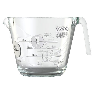 Pyrex 100 Year Measuring Cup 1 Cup  - White