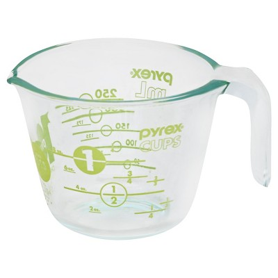 Pyrex 100 Year Measuring Cup 1 Cup  - Green