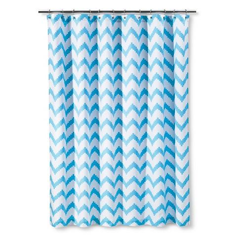 Kids Classic Chevron Shower Curtain Target
