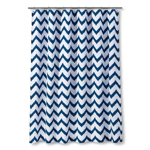 Curtains Ideas target kids shower curtain : Details about Kids Classic Chevron Shower Curtain