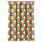Kids Rainbow Shower Curtain