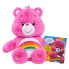 Care Bear Medium Plush with DVD - Cheer