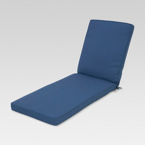 Sunbrella belvedere chaise lounge replacement cushion ebay for Chaise cushions on sale
