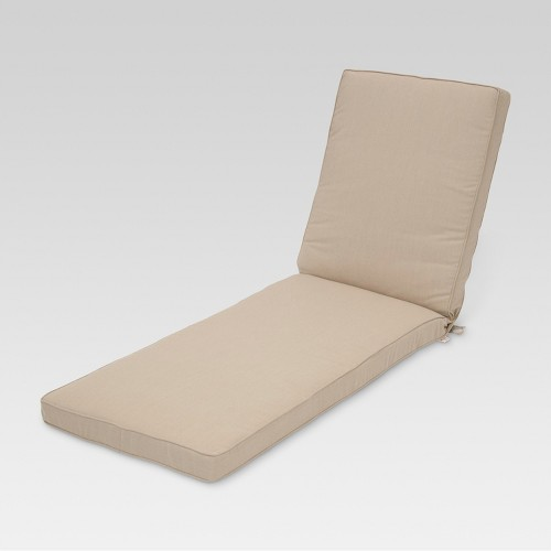Sunbrella belvedere chaise lounge replacement cushion ebay for Belvedere chaise lounge