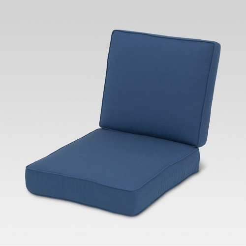Sunbrella belvedere club chair loveseat replacement cushion ebay Loveseat cushions for outdoor furniture