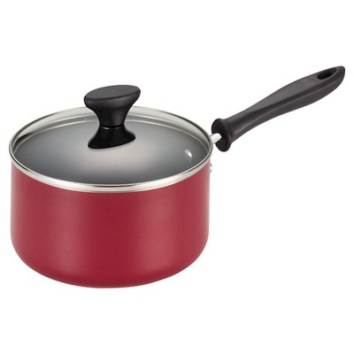 Farberware Reliance 3 qt Covered Saucepan - Red