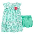 Just One You™Made by Carter's® Newborn Girls' Animal Print Dress - Green