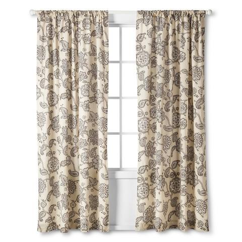 mudhut jaipur curtain panel multi colored 84 target
