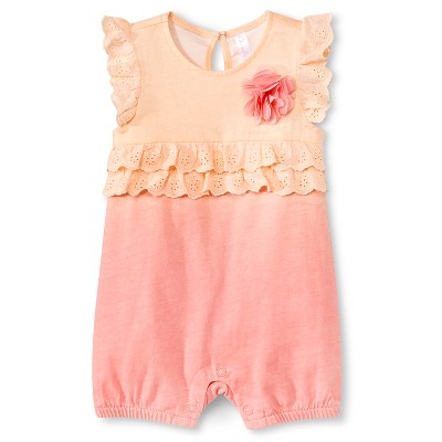 Newborn Girls' Romper
