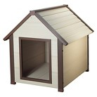 New Age ecoFLEX Canine Cottage ThermoCore Insulated Outdoor Dog House - Tan