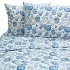 Blue Shells Sheet Set