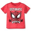 Spider-Man Toddler Boys' Space Dye Tee - Red