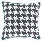 "Herisau Houndstooth Pillow 22"" x 22"""