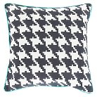 "Herisau Houndstooth Pillow 20"" x 20"""
