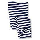 Gerber Graduates® Toddler Girls' Stripe Bow Legging - Navy