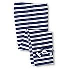 Gerber Graduates® Toddler Girls' Stripe Bow Legging - Navy