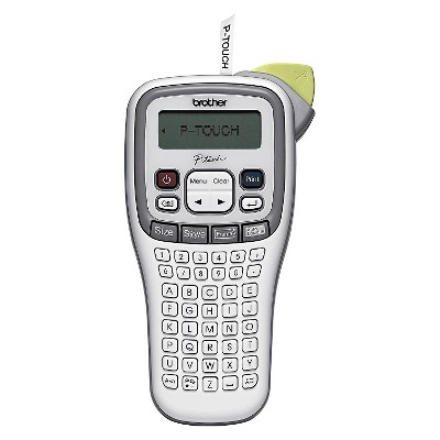 Brother® P-Touch® P-Touch PT-H100 Label Maker, 2 Lines, 4-3/8w x 8-3/8d x 2-3/8h