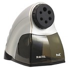 X-ACTO® ProX Electric Pencil Sharpener, Silver/Black