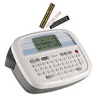 Brother® P-Touch® PT-90 Simply Stylish Personal Labeler, 2 Lines, 6-1/10w x 4-1/10d x 2-1/5h