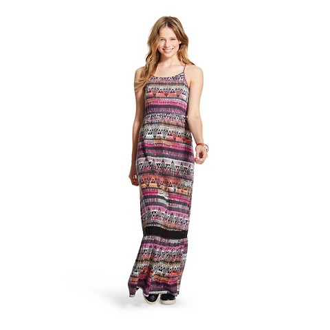 Women's Printed Maxi Dress - Mossimo Supply Co.™ (Junior's)