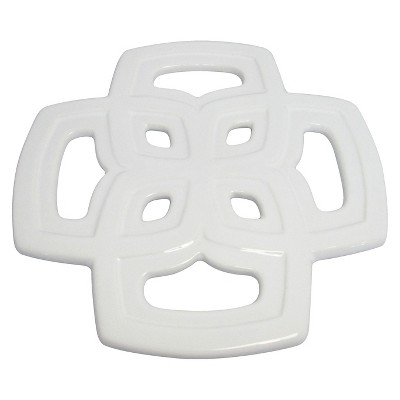 Threshold™ Ceramic Trivet - White