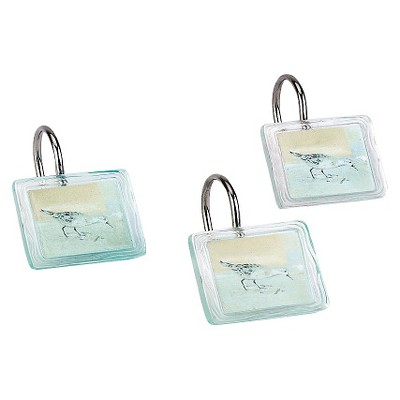 Avanti Blue Waters Shower Hooks - Blue