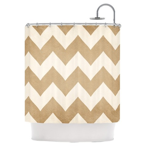 Catherine mcdonald chevron shower curtains product details page