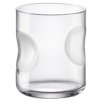 Bormioli Rocco Giove Double Old Fashioned Frosted Glass Set of 6