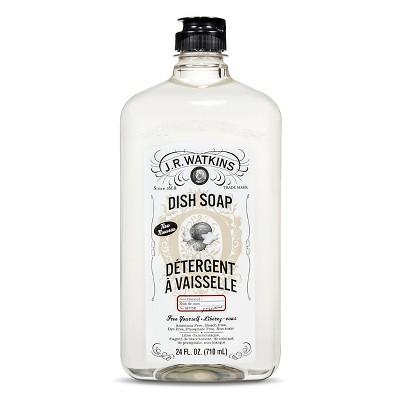 J.R. Watkins Coconut Scented Dish Soap 24 oz