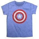 Captain America Toddler Boys' Athletic Tee - Blue