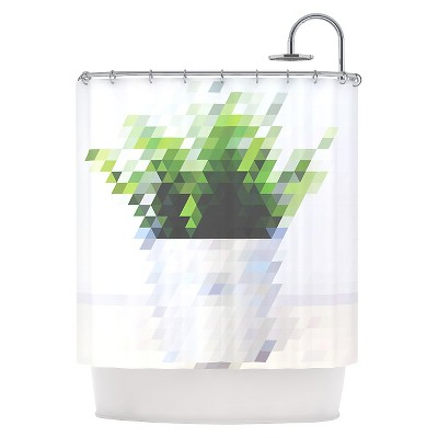 "KESS InHouse Danny Ivan ""Plant"" Shower Curtain"