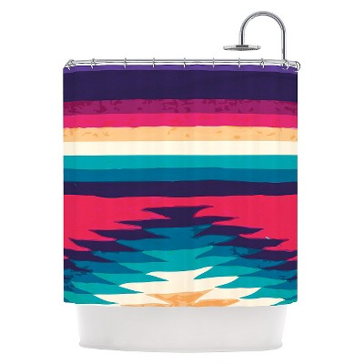 "KESS InHouse Nika Martinez ""Surf "" Shower Curtain"