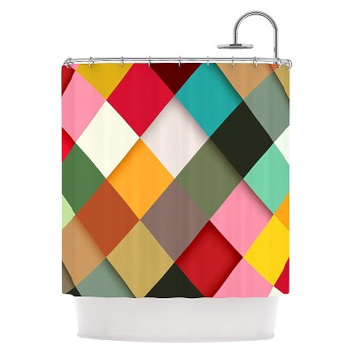 "KESS InHouse Danny Ivan ""Colorful"" Shower Curtain"
