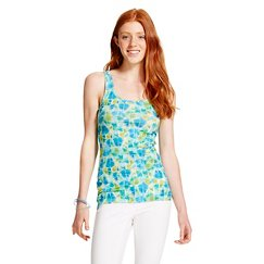 Women's Printed Long & Lean Tank Top - Mossimo Supply Co.™ (Junior's)