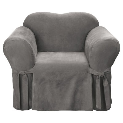Sure Fit Chair Slipcover - Grey