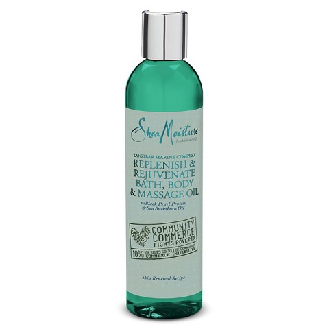 SheaMoisture Community Commerce Zanzibar Marine Complex Bath, Body & Massage Oil - 8 oz