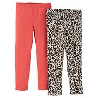 Just One You™ Made By Carter's® Toddler Girls' 2-Pack Legging Pant - Pink