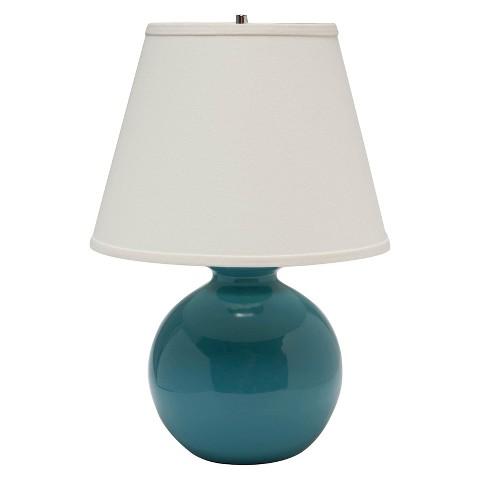 haeger small bristol table lamp 21 h teal target. Black Bedroom Furniture Sets. Home Design Ideas
