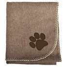 "Woolrich Herringbone Pet Blanket - Dark Brown (30""x40"")"