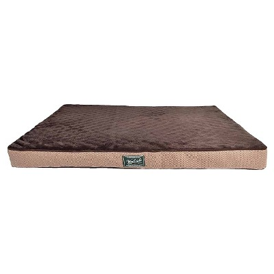 Pet Bed Woolrich Dark Brown Vintage Khaki Basic Brown