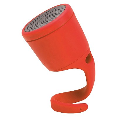 Boom The Swimmer Bluetooth Waterproof Wireless Speaker - Red
