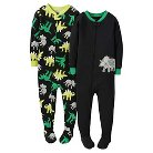 Just One You™ Made by Carter's&#174 Toddler Boys' 2-Pack Dino Fleece Footed Sleeper - Green