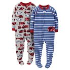 Just One You™ Made by Carter's&#174 Toddler Boys' 2-Pack Footed Fleece Sleepers