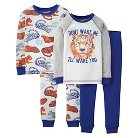 Just One You™ Made by Carter's&#174 Toddler Boys' 4-Peice Mix & Match Tiger Pajama Set