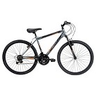 "Huffy 26"" Men's Mountain Bike Grey"